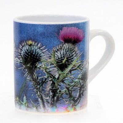 personalised Thistle Mug