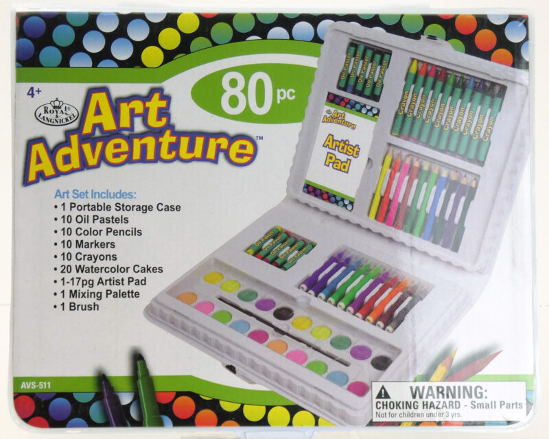 Art Adventure 80pc set
