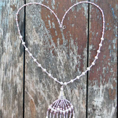 Pink Chandelier Necklace - Just4Ewe Jewellery