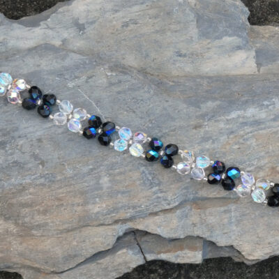 Czech Crystal Bracelet - Just 4 Ewe Jewellery