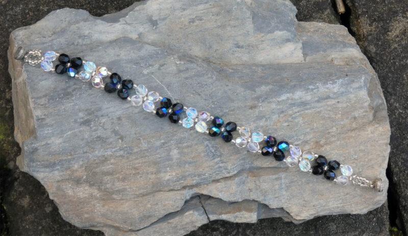 Czech Crystal Bracelet - Just 4 Ewe Jewellery
