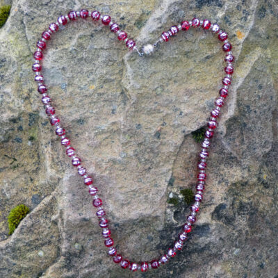 Glass Beaded Knecklace - Just 4 Ewe Jewellery