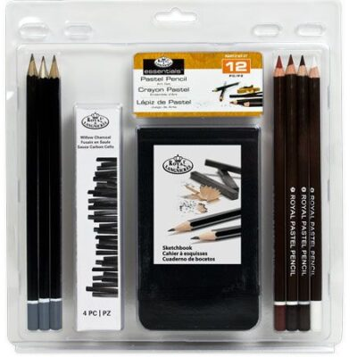 Royal and Langnickel - 12pce Pastel Pencil Art Set
