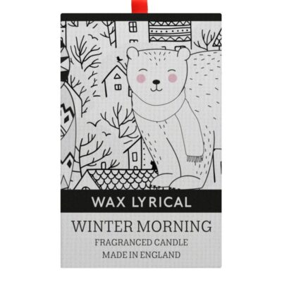 Winter Morning Candle in Box