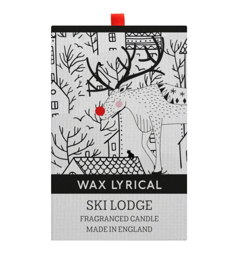 Ski Lodge Scented Candle in Box