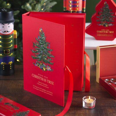 Beautiful Christmas Tree Advent Calendar
