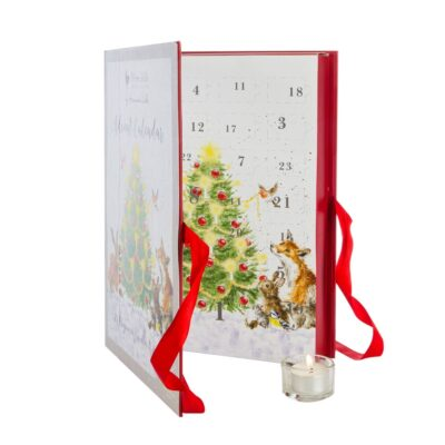 Illustrated advent calendar