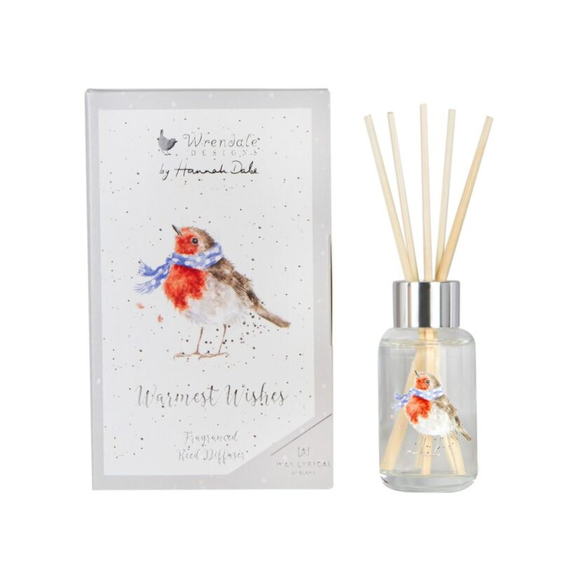 Warmest Wishes Robin 40ml Reed Diffuser