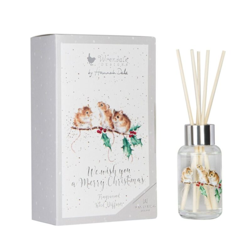 Wrendale Merry Christmas 40ml Reed Diffuser