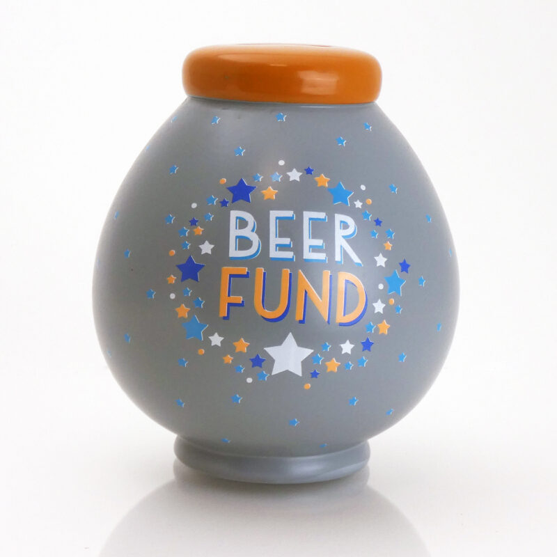 Beer Fund Savings Pot Front