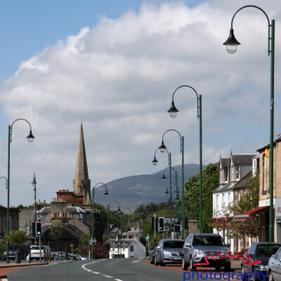 Biggar High Street Portrait Fine Art Prints