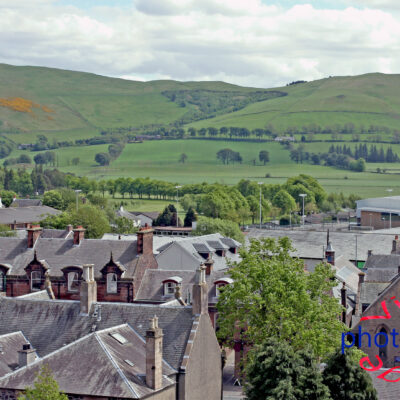 Biggar Rooftops Fine Art Prints