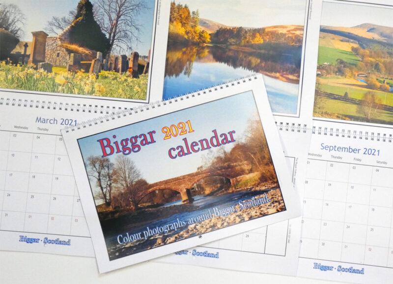 The Biggar Gallery Appointment Calendar 2021