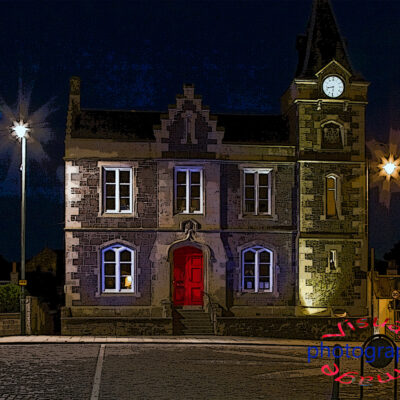 Corn Exchange Biggar Fine Art Print