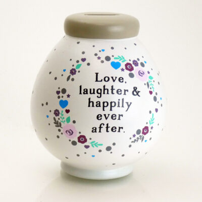 Dream Wedding Savings Pot Back