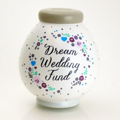 Dream Wedding Savings Pot Front