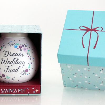 Dream Wedding Savings Pot with Box