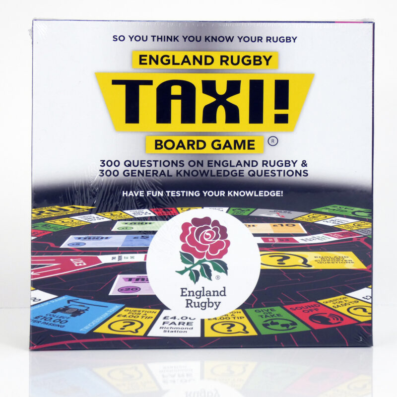 English Rugby Taxi Board Game