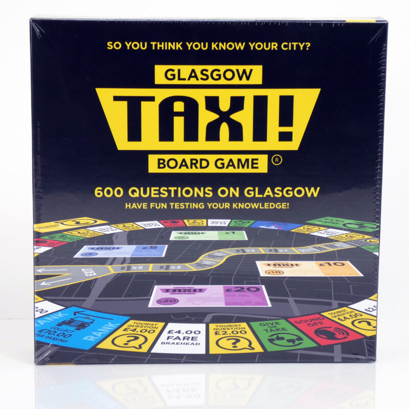 Glasgow Taxi Board Game