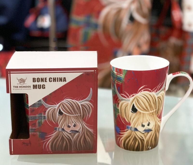 McMoo Tartan Coffee Mug