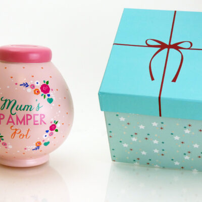 Mum's Pamper Savings Pot with Box