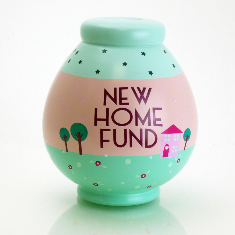 New Home Fund Savings Pot Front