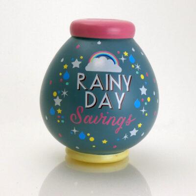 Rainy Day Savings Pot Front