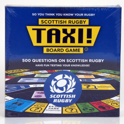 Scottish Rugby Taxi Board Game