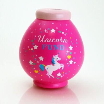 Unicorn Savings Pot Front